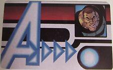 AVID-009 SANDMAN ID CARD Avengers Assemble Marvel Heroclix