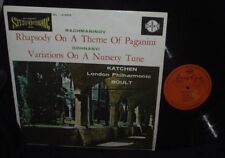 LONDON STEREO KOREA SUN EUM LP Rhapsody on a Theme of Paganini Katchen / Boult