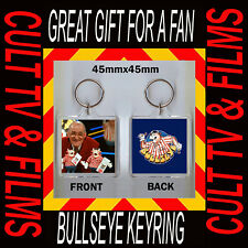 BULLSEYE KEYRING - 45X45mm CANT BEAT A BIT OF BULLY JIM BOWEN -