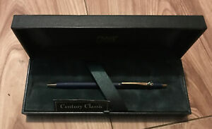 Genuine Cross BMW Pen Black Crackle Exquisite Gold Detail Collectable item boxed
