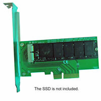 Cablecc PCI Express PCI-E to 2013 2014 2015 2016 Macbook Pro Air SSD Adapter PCB