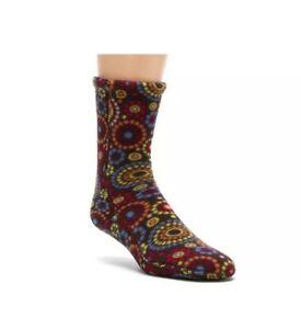 Acorn VersaFit Women's Chocolate Dots Versa Fit XXS XX-Small 5 - 6.5 shoe