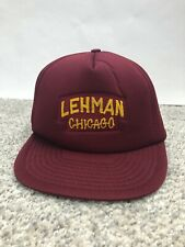 Lehman Chicago Vintage Hat Rare And One Of A Kind The Original