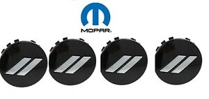 "11-19 Dodge Charger Challenger 20"" Wheel Center Cap Daytona T/A Gloss Black 4pcs"