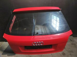 AUDI A3 S LINE 8P FACELIFT BOOT LID TAILGATE + GLASS 3 DOOR RED LZ3M