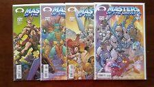 Masters of the Universe #1-4 Full Set (2002 Image) B Covers
