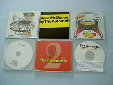THE AUTOMATIC job lot of 6 promo CD/DVD singles Recover Raoul Steve McQueen