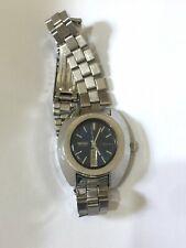 Seiko Hi-Beat Automatic 2206-7000 17 Jewels Blue Faced Day Date Watch Working