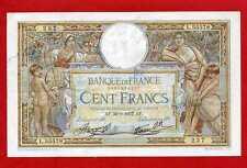 (Ref: L.555)  100 FRANCS LUC OLIVIER MERSON 30/09/1937 (TTB+)