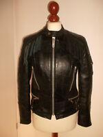 vintage Motorradjacke campri genuine apache Lederjacke motorcycle jacket S