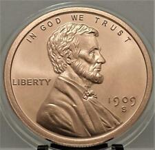 LINCOLN 1909 s VDB PENNY ~1 oz .999 COPPER round ***In New Capsule # B 3