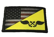 Navy Yellow Shirt Boatswain's Mate Morale Patch Tactical Military Army Flag USA