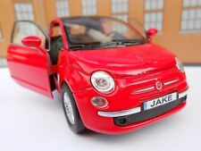 FIAT 500 PERSONALISED NAME PLATES Toy Car MODEL DAD BOY BIRTHDAY GIFT PRESENT