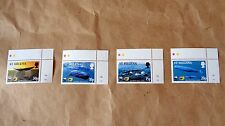 Wwf 2002 St Helena Sperm Whale 4V Mint Stamp Sheet Corners