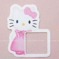 HELLO KITTY Light Switch Wall Stickers Girls Room Glow in The Dark