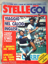 STELLE SUPERGOL=N°10 7/1985=VIAGGIO NEL CALCIO INGLESE=STIELIKE=I RITIRI