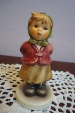 """Hummel figurine """"Clear as a Bell"""" , # 2181, 3 3/4"""", TM8, original box and  cert"""
