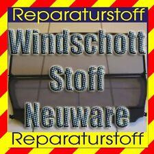 Cabrio Windschott - Stoff Bezug Netzstoff Reparatur Windstop Cloth textile NEU