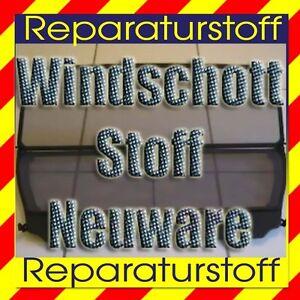 Cabrio Windschott - Stoff Bezug Netz Bespannung Reparatur Windstop
