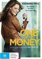 One For The Money (DVD, 2012) region 4 (Katherine Hiegl)