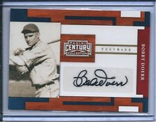 2010 PANINI CENTURY COLLECTION GOLD AUTOGRAPH  BOBBY DOERR 11/25