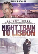 Night Train to Lisbon (DVD, 2014) Jeremy Irons, Melanie Laurent, Jack Huston