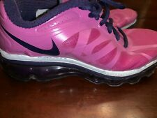 Nike Air Max 2012 Youth Purple Pink Athletic Running Shoes 488124-501 Size 3.5Y