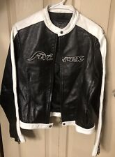 AVIREX Motorcycle Leather Jacket Women's Size XXXL