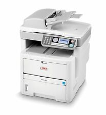 Oki MB480 A4 Multifunction Duplex Network USB Mono Laser Printer 480 JM