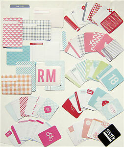 """PROJECT LIFE """"Becky Higgins""""  [Sister]  Core Kit Cards  (60 cards)"""