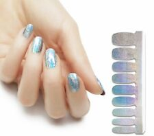 Nail Polish Strips Stickers Hologram Effect