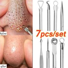 7pcs Vacuum Blackhead Remover Comedone Acne Pimple Belmish Extractor Set