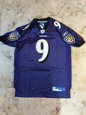 official NFL Baltimore Ravens #9 McNair jersey size 46..NWT...NOT A REPLICA
