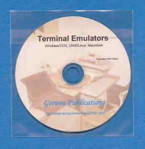 Computer Terminal Emulators PC Linux Windows 3270 and..