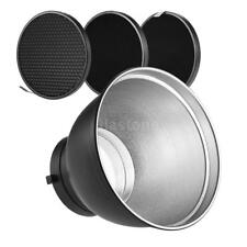 Flash Speedlite Light Reflector Diffuser Honeycomb Grid Bowens Mount Godox F7E3