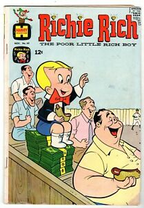 Richie Rich The Poor Little Rich Boy #63, Very Good Condition