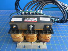 TCI Sine Guard KLR45ATB Three Phase Linear Reactor 3P 60Hz 600V 45A w/ Cables