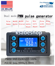 PWM Signal Generator Module Adjustable Pulse Frequency Duty Cycle Square Wave GL