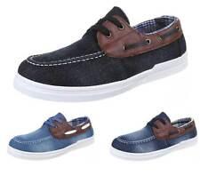 Markenlose Herren-Schnürschuhe aus Textil
