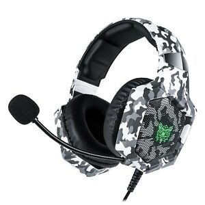Onikuma K8 Headset Gaming for PS4 New Xbox One, Stereo Over-Ear Headphones & Noi