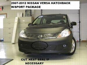 Lebra Front End Mask Cover Bra Fits 2007-2012 Nissan Versa Hatchback w sport pkg