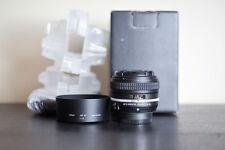 Nikon AF-S 50mm Special Edition 1.8G Prime FX Lens - US Model & MINT!