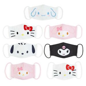Japan Hello Kitty My Melody Pochacco Kuromi Cinnamoroll Washable Cloth Face Mask
