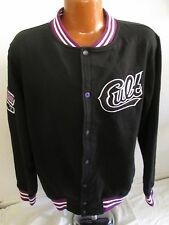 Men's Young & Reckless Cult Varsity Jacket - Black/Purple/White - Size XL/2X