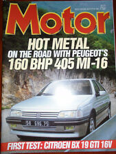 Motor 8/8/87 Citroen BX 19 GTi 16v