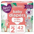 Parent's Choice Disposable Diapers Baby Diapers Size Newborn,Size 1, size 2