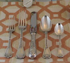 Odiot, Paris - Wonderful Sterling Silver  5-pc Place-Setting, 10- Bourbon