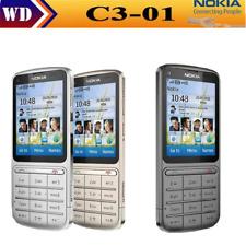 Nokia C3-01 GPRS WIFI Bluetooth 5MP 3G English/Russian/Arabic keyboard phone 2.4