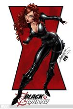 Poster Princess Princesses Sexy Sex Hot Black Widow Black Widow Avengers Comics