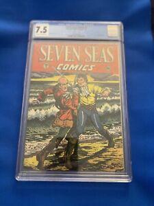 Seven Seas Comics #2 CGC 7.5 Titanic Story